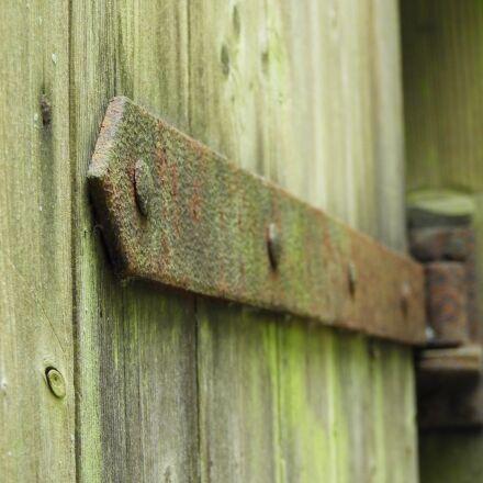 hinge, rust, old, Nikon COOLPIX B700