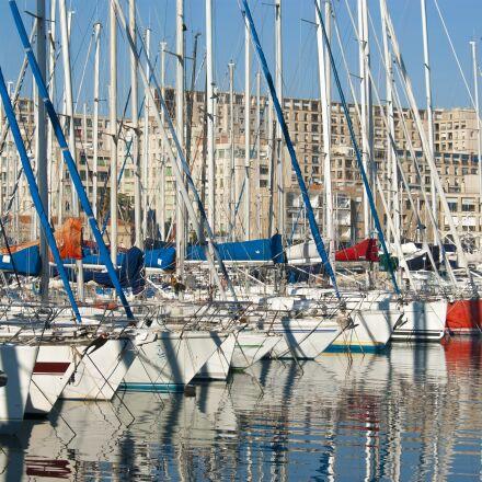 harbor, port, sailboat, Pentax K10D