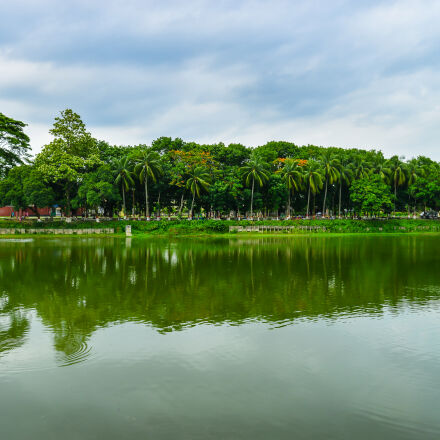 blue, sky, green, landsape, Nikon D3200
