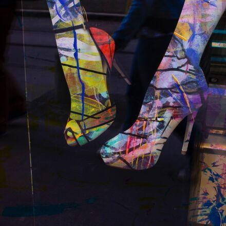 fun, shoes, legs, Pentax K-X