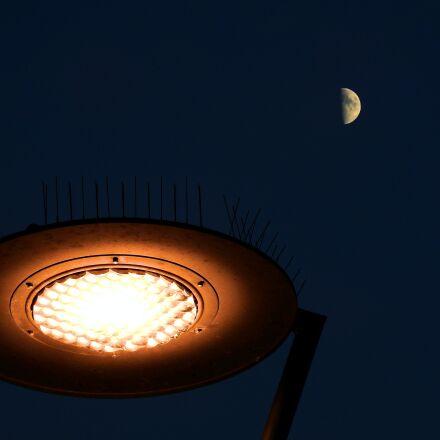 replacement lamp, the moon, Nikon COOLPIX P900