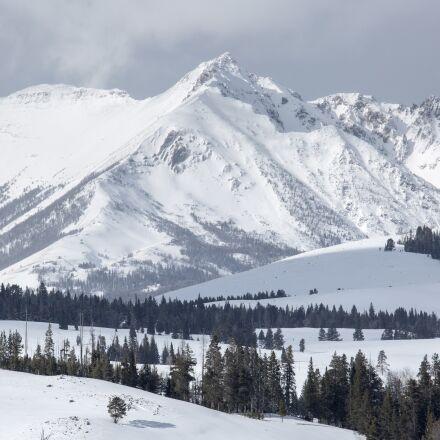 electric peak, mountains, gallatin, Canon EOS 5D MARK III