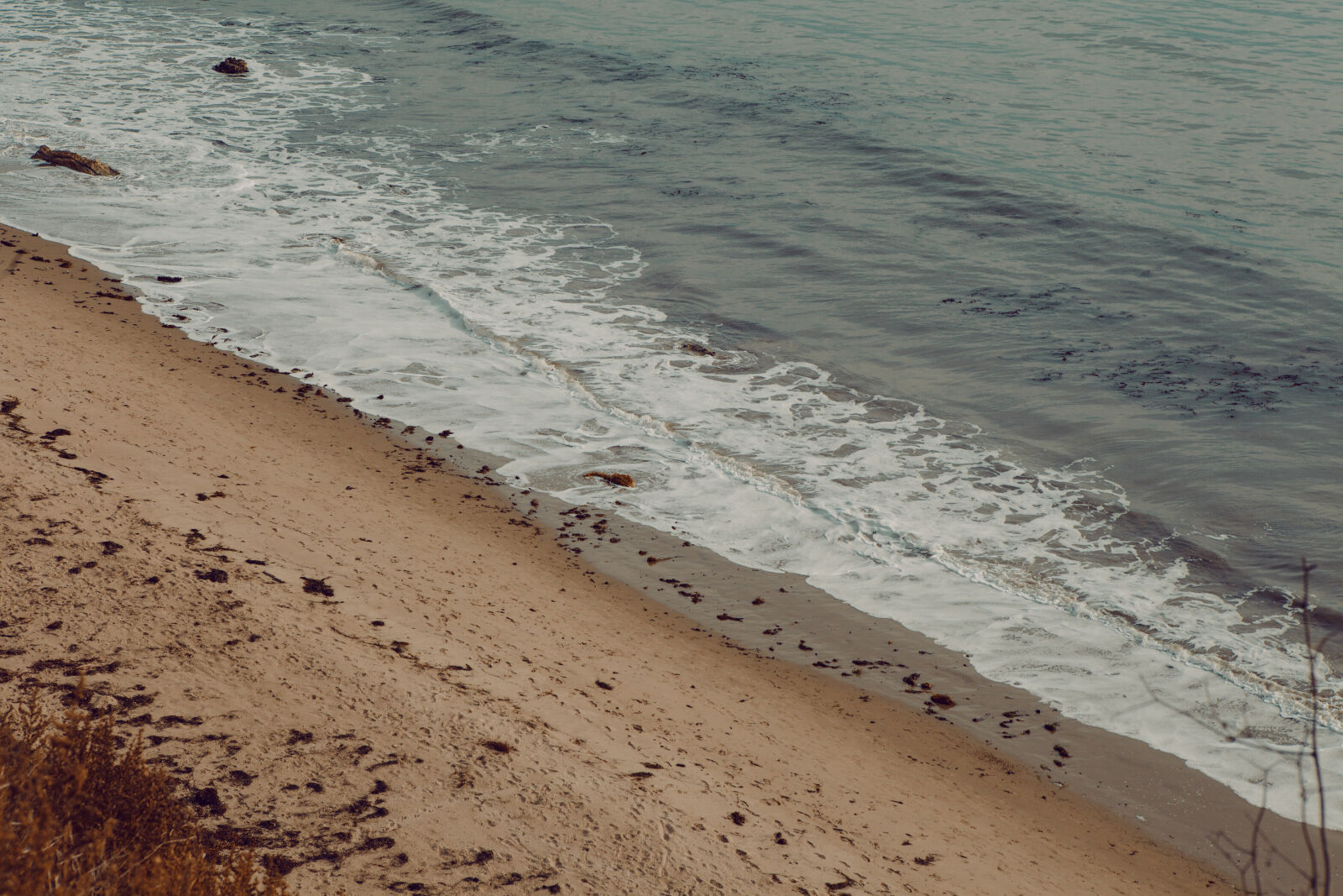 beach, california, coast, liquid