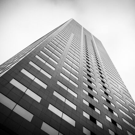 skyscraper, architecture, city, Panasonic DMC-GF2