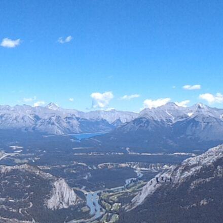 mountains, banff, canada, Sony DSC-W630