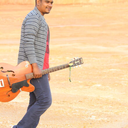 acoustic, guitar, indian, location, Canon EOS 600D
