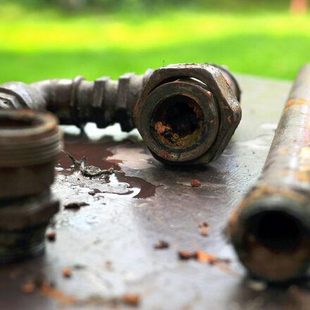 dirt, old, pipe, plumbing, Nikon D300S