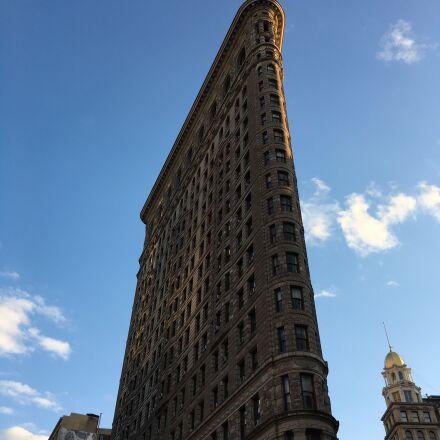 flatiron, new york, skyscraper, Apple iPhone 6s