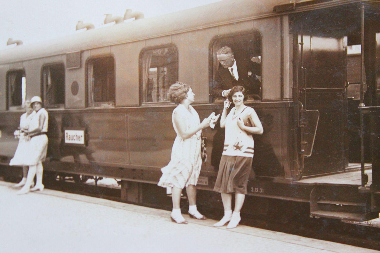 "Canon EOS 600D (Rebel EOS T3i / EOS Kiss X5) sample photo. ""Railway, dare, historically"" photography"