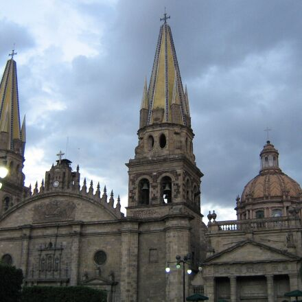 guadalajara, cathedral, church, Canon POWERSHOT A410