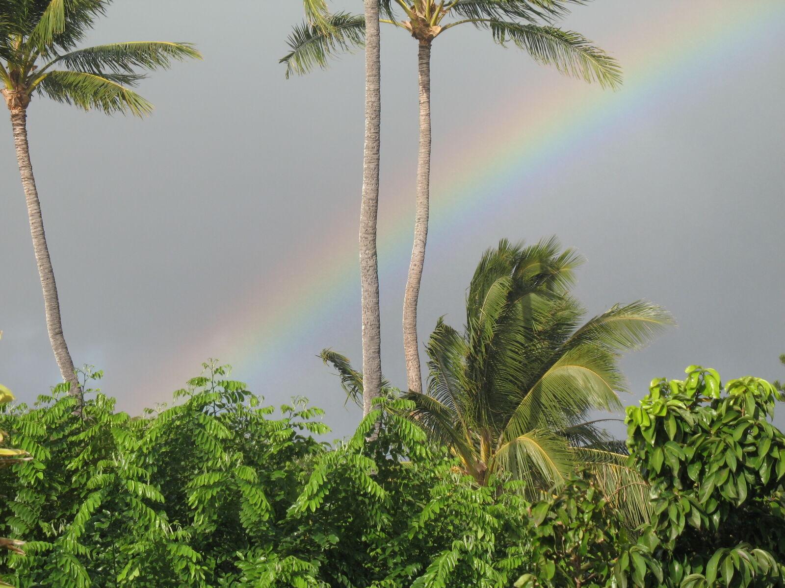 "Canon POWERSHOT A620 sample photo. ""Rainbow, tropical"" photography"