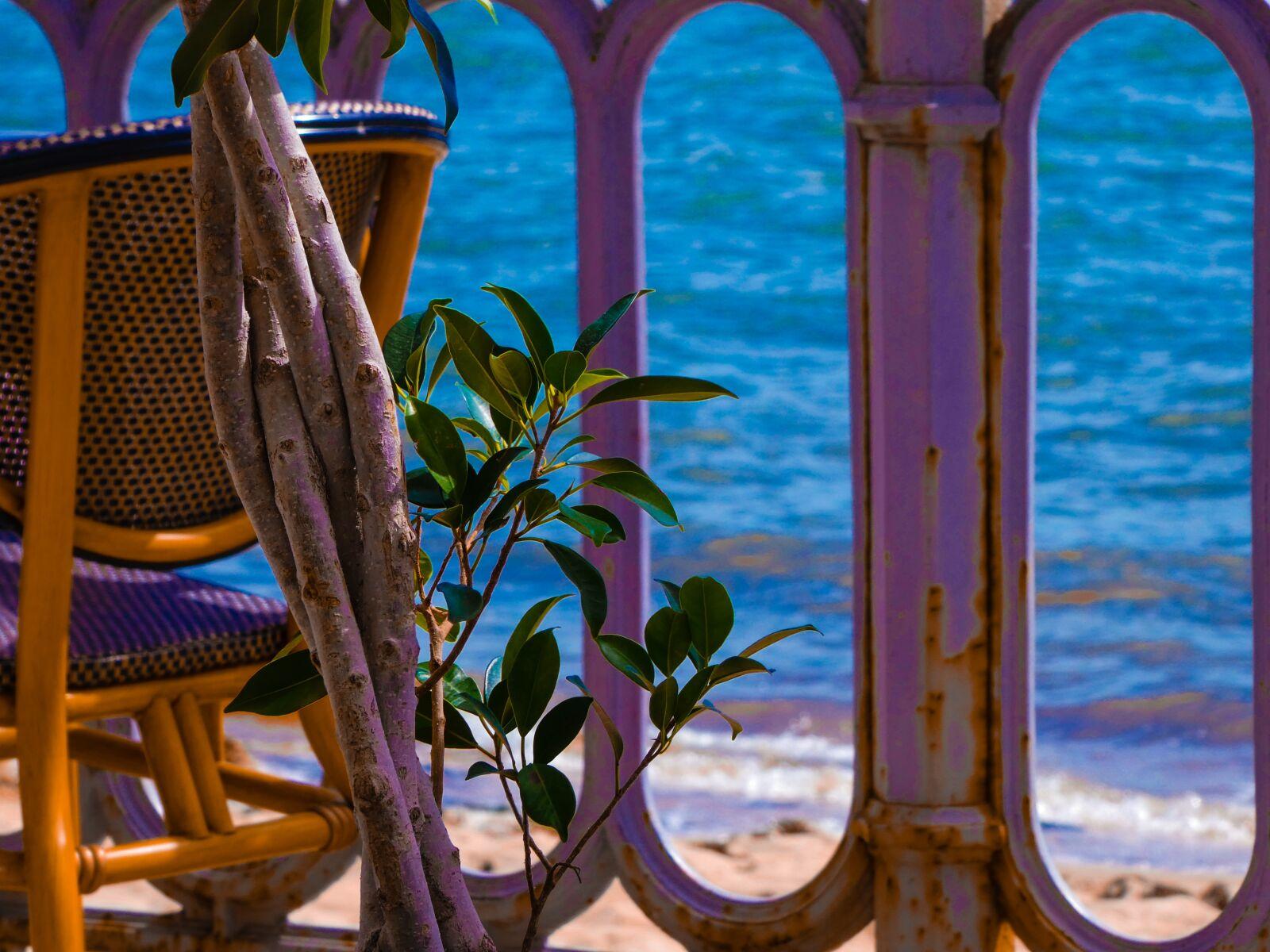 chair, sea, ocean