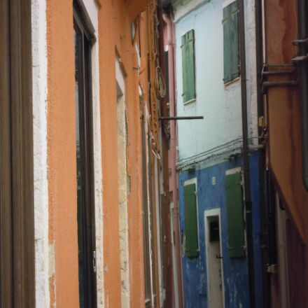 streets, houses, colored, Nikon COOLPIX S5100