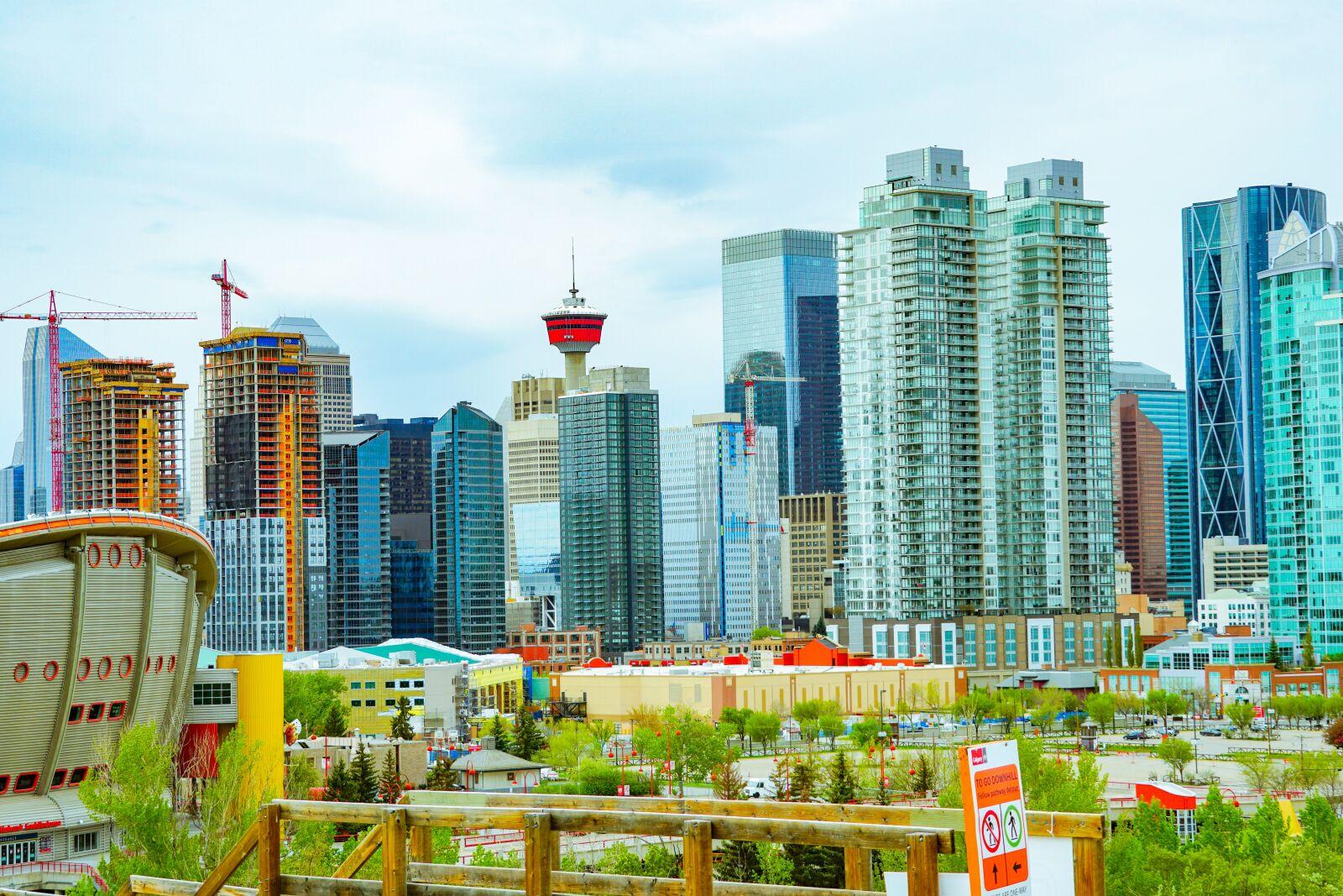 """Sony a6500 sample photo. """"Calgary, canada, alberta"""" photography"""