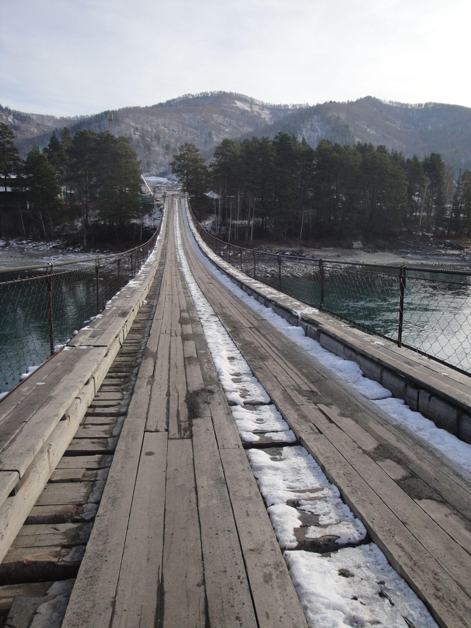 altai, bridge, nature