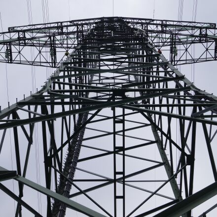 energy revolution, pylon, electricity, Sony SLT-A58