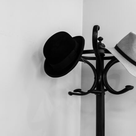 hat, coat rack, wing, Panasonic DMC-GH3