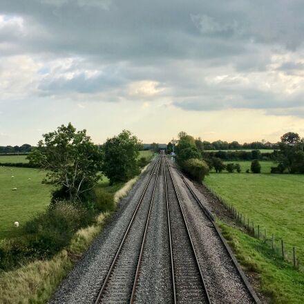 railway, line, railroad, Apple iPhone 6s