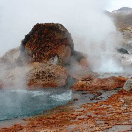 geyser, landscape, unrest, Panasonic DMC-FX07