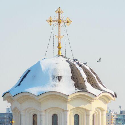 church, cross, orthodox, RICOH PENTAX K-3