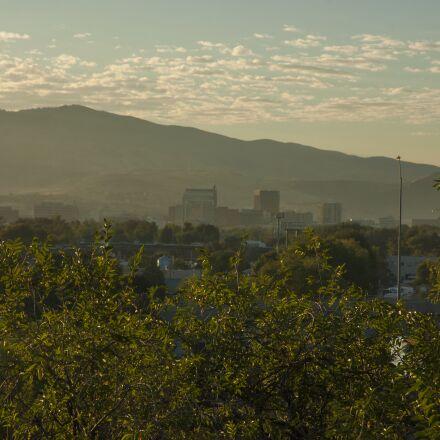 boise, early, morning, haze, Nikon D70S