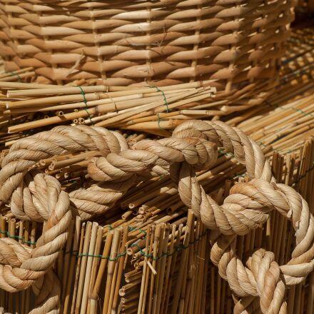 straw, wicker, braid, Pentax K10D