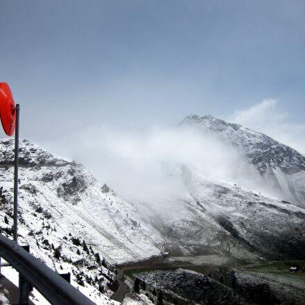 mountains, snow, winter, Canon DIGITAL IXUS 85 IS