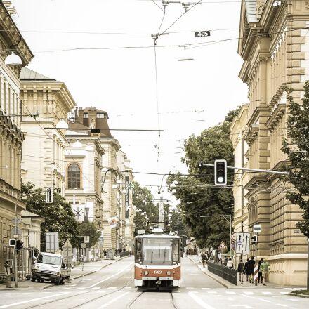 tram, transportation, wiring, Nikon D600