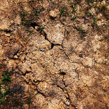 cracked, earth, ground, Nikon D40X