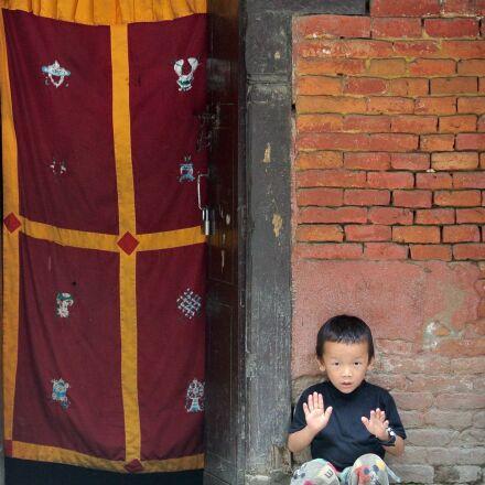 kathmandu, nepal, boy, Nikon 1 J1