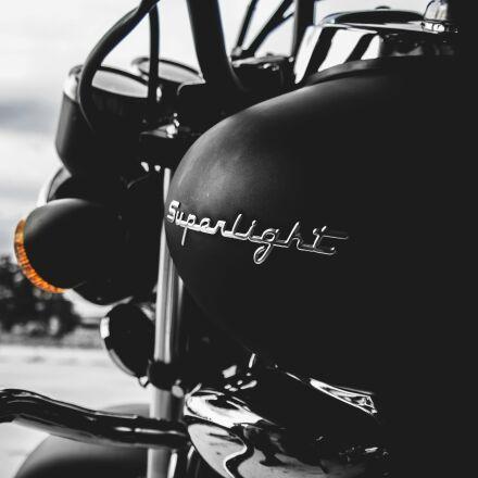 black, close-up, motorbike, Samsung NX2000