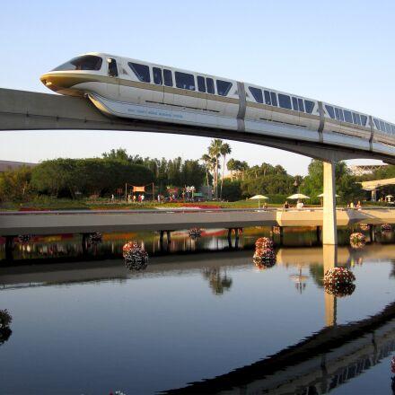 monorail, transport, transportation, Canon POWERSHOT SD1400 IS