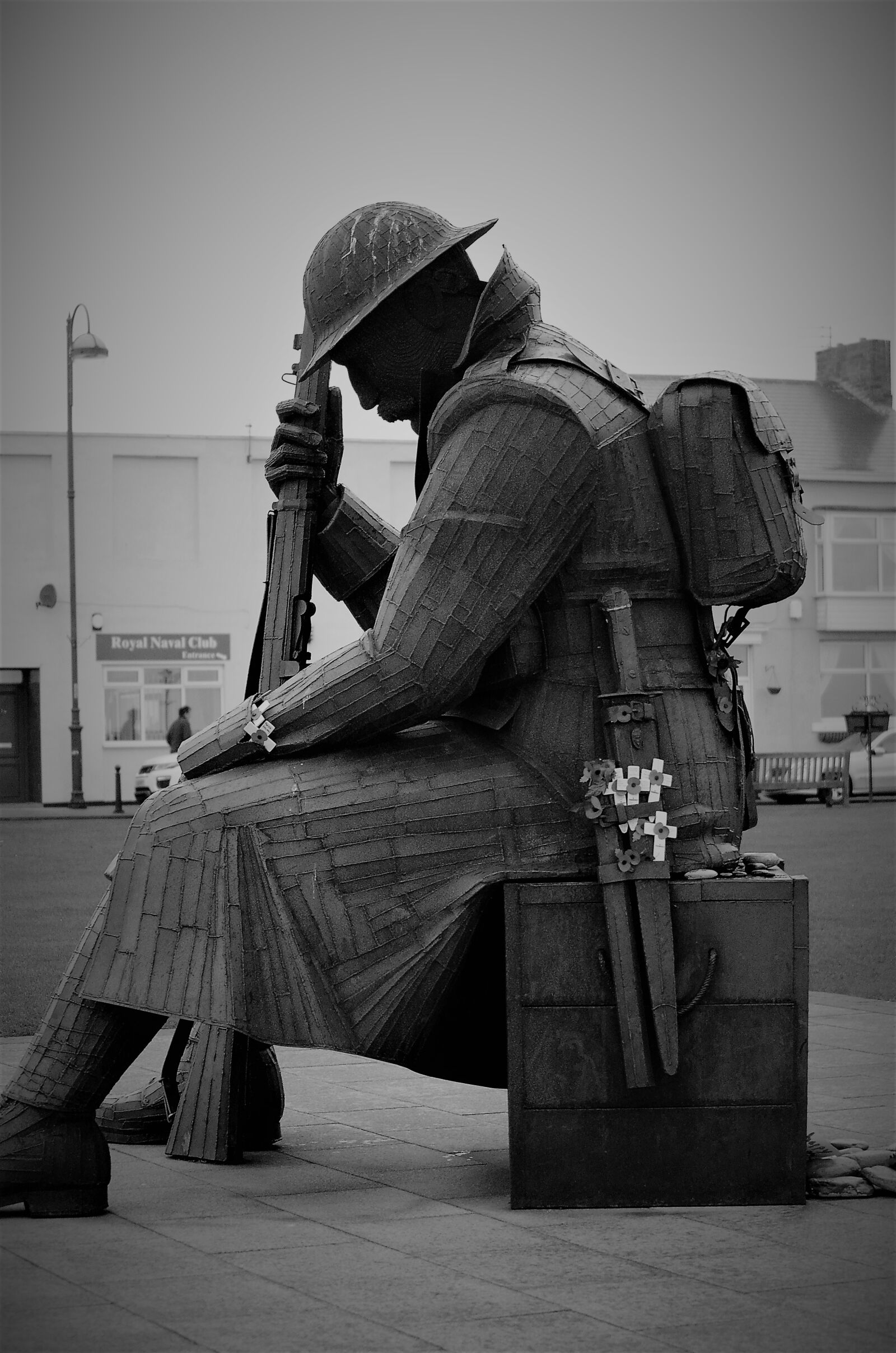 """Nikon D5100 sample photo. """"Remembrance, soldier, tommy"""" photography"""
