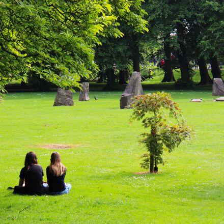 park, grass, nature, Canon EOS 700D