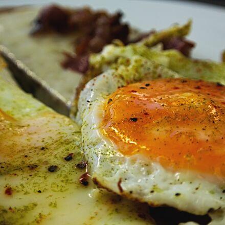 fried, egg, bread, Nikon 1 V2