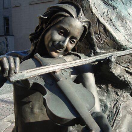 musician, fiddle, violin, Sony DSC-W120