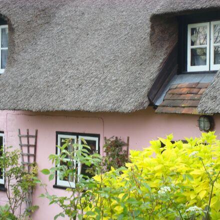 cottage, village, countryside, Sony DSC-W90