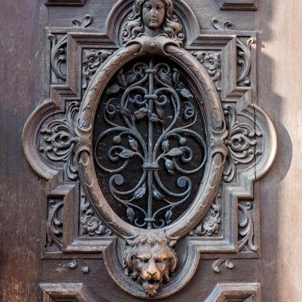 architecture, door, historicism, Panasonic DMC-FZ300