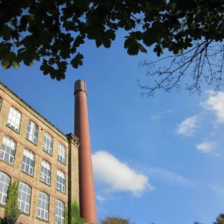 mill, industrial, england, Canon IXUS 107