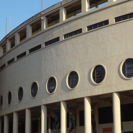 pacaembu stadium, architecture, s, Sony DSC-WX9