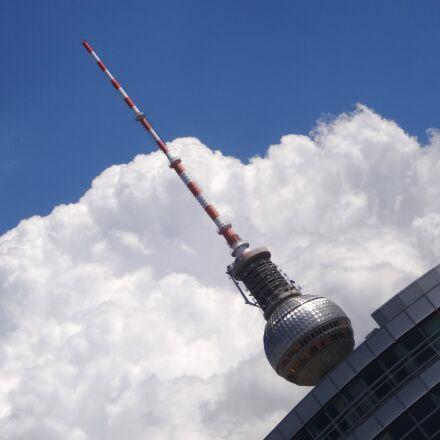 berlin, alex, tv tower, Sony DSC-WX200