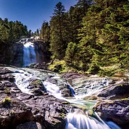 waterfall, nature, landscape, Sony ILCE-6000