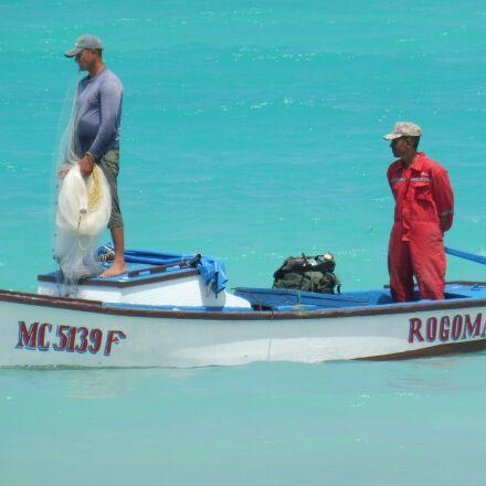 boat, fisherman, fishing, Panasonic DMC-TZ58