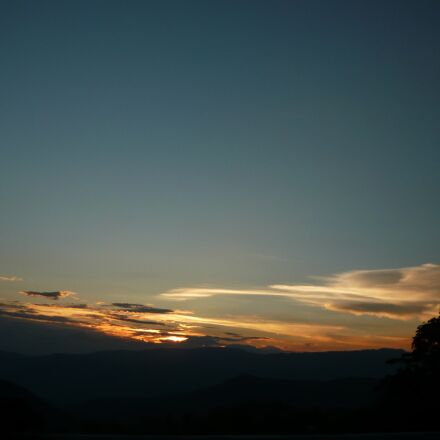 colombia, landscape, sunset, Panasonic DMC-LS80