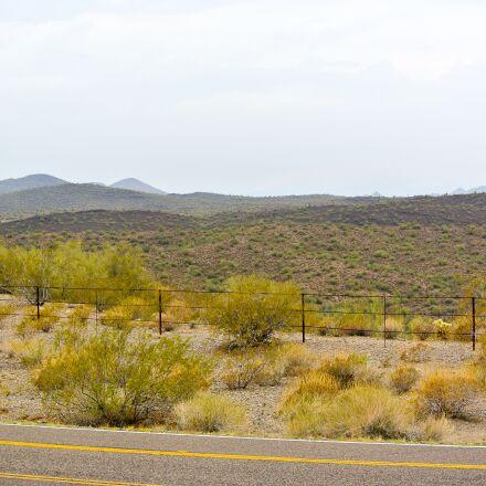 highway, traffic sign, nature, Nikon 1 J1