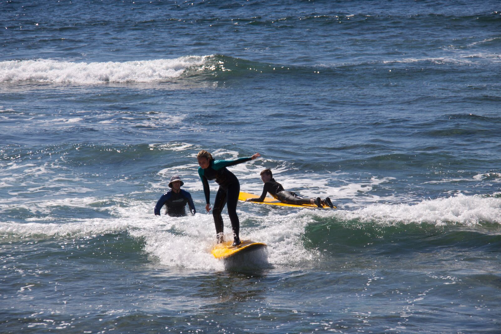 "Canon EOS 50D sample photo. ""Surfers, sea, ocean"" photography"