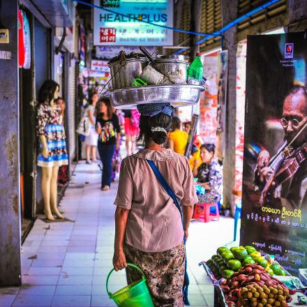 asia, marketplace, myanmar, poverty, Nikon D700