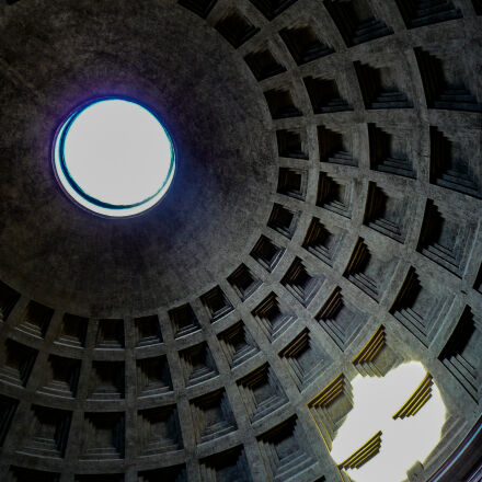 arch, concrete, domed, roof, Panasonic DMC-TZ2