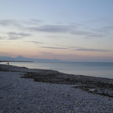 beach, sunset, spain, Sony DSC-W270