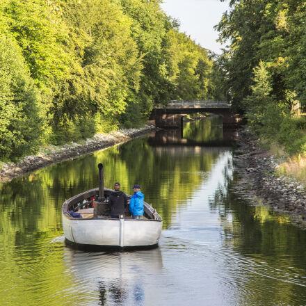 boat, canal, Canon EOS 5D MARK III